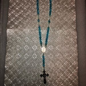 Hand made Picture Rosary of past love ones